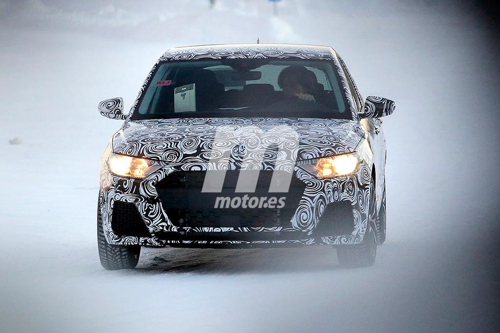 Audi A1 2018: Cazada la nueva generación en su configuración definitiva