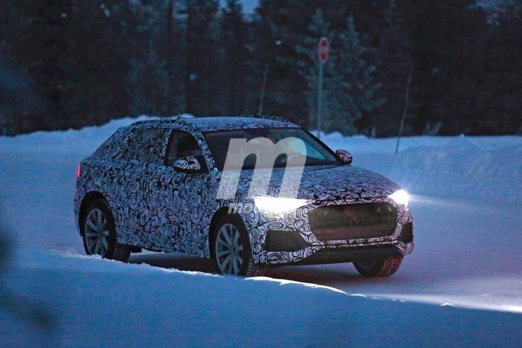 Audi Q8 2018: se acabaron las mulas de pruebas, un primer vistazo a un prototipo