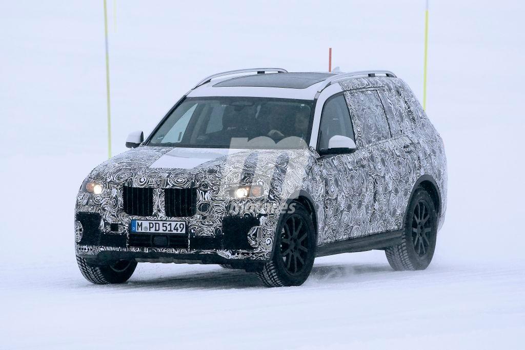 El BMW X7 2018 ultima su desarrollo realizando sus pruebas de invierno