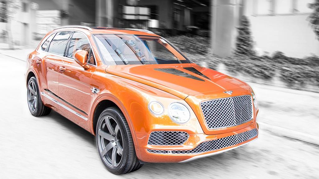Bentley Bentayga 'Gigante': así luce el SUV de lujo con el nuevo paquete de DMC