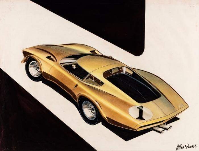 Exposición: La historia y evolución del Corvette a través de sus bocetos y anuncios