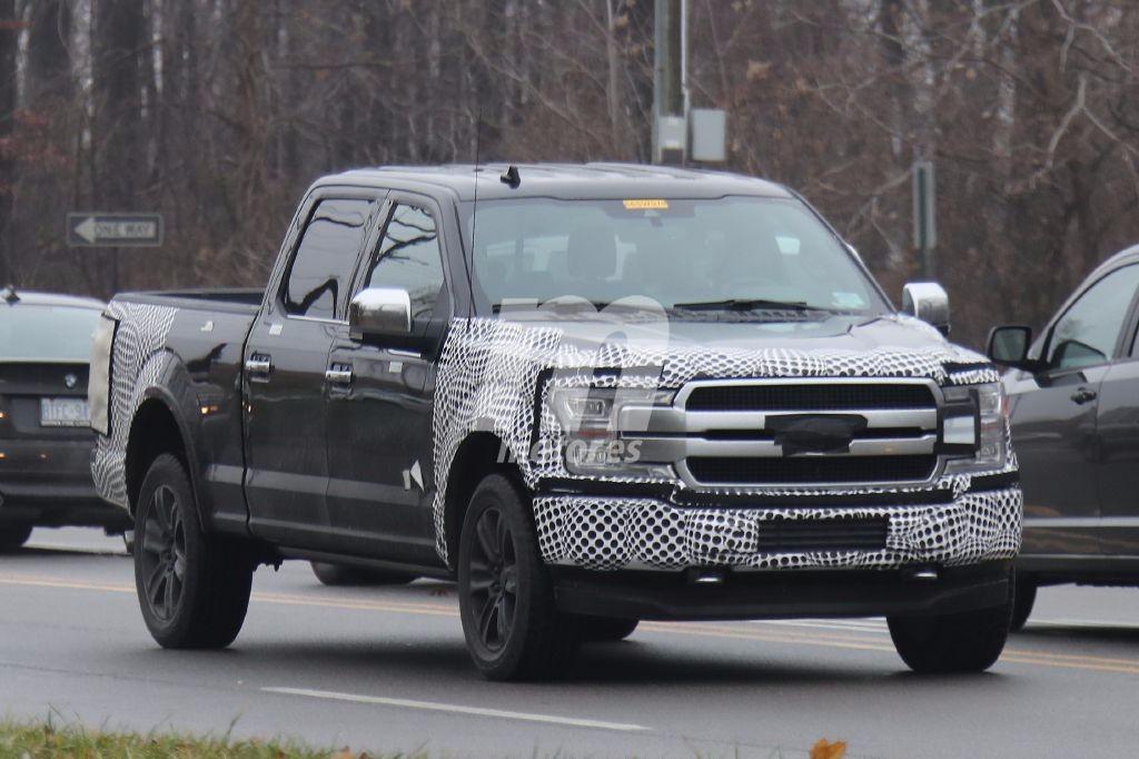Ford F-150 2018: Cazado el facelift poco antes de su presentación en Detroit