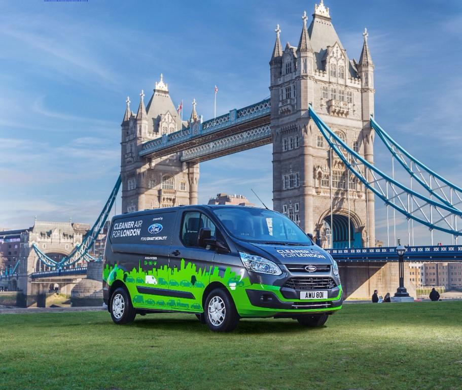 Ford Transit Custom PHEV 2019: se inician las pruebas en las calles de Londres