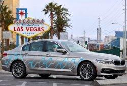 BMW presenta el Serie 5 autónomo y un visor holográfico en el CES 2017