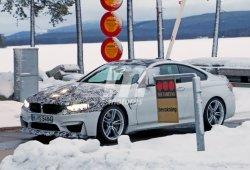 BMW M4 CS: Nuevas fotos espía en la nieve de la nueva versión deportiva