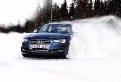 Conducción con nieve o hielo, precaución máxima