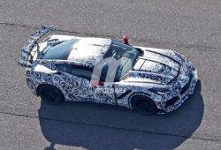 Descubierto el bastidor de un Corvette C7 en el laboratorio de baterías de GM