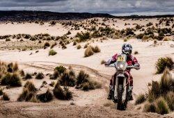 Dakar 2017, etapa 10: Barreda presiona, Quintanilla KO