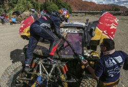 Dakar 2017, etapa 4: Sainz claudica, Barreda no es líder