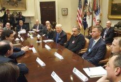 FCA, Ford y General Motors visitaron la Casa Blanca