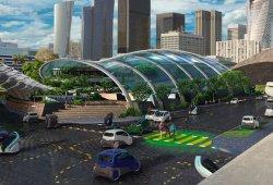 Ford nos muestra su visión de la ciudad del mañana: coches eléctricos y autónomos