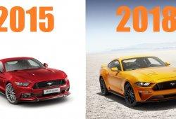 Ford Mustang 2018 vs Mustang 2015: Análisis de sus diferencias