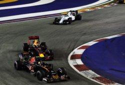 Kvyat se ganó el puesto con su pelea frente a Verstappen en Singapur