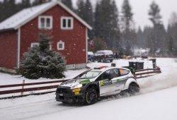 Lorenzo Bertelli empieza su 2017 en el Rally de Suecia
