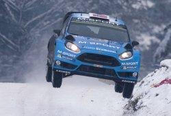 Mads Ostberg, con un World Rally Car 2017 desde Suecia