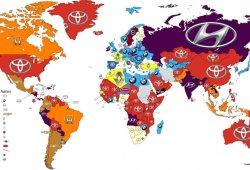 Las marcas más buscadas en Google por países