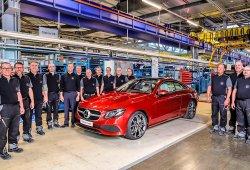 Mercedes Clase E Coupé 2017: se inicia su producción en Bremen