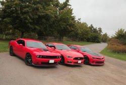 Mustang, Camaro y Challenger caen en ventas: Los pony cars retroceden en 2016