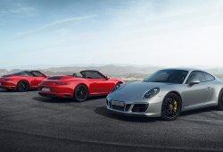 """Porsche 911 GTS 2017, el """"nueveonce"""" más equilibrado se actualiza"""