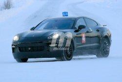 Cazamos el nuevo Porsche SUV Coupé con mecánica híbrida