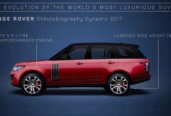 Range Rover: 48 años de evolución en vídeo