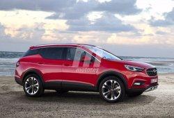 Te anticipamos el aspecto del Opel Grandland X 2018 con esta recreación