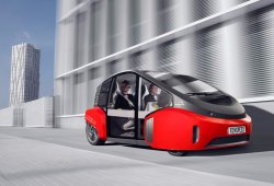 Rinspeed Oasis Concept: un pequeño coche autónomo para disfrutar de la botánica