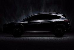 Subaru XV 2018: primer anticipo antes de su debut en Ginebra