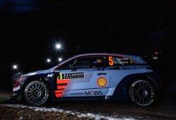 Neuville brilla en el abrupto inicio del Rally de Montecarlo