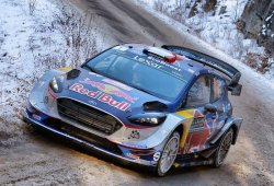 Neuville pincha, Ogier nuevo líder del Rally de Montecarlo