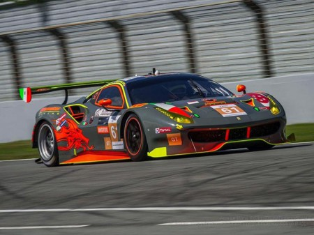 Clearwater Racing llevará un Ferrari 488 GTE al WEC