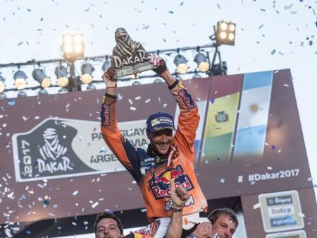Dakar 2017: Sam Sunderland mantiene la racha de KTM