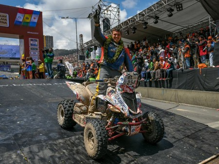 Dakar 2017: Sergey Karyakin sorprende en quads