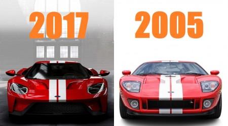 El V6 EcoBoost del Ford GT 2017 consume más que el V8 de su antecesor de 2005