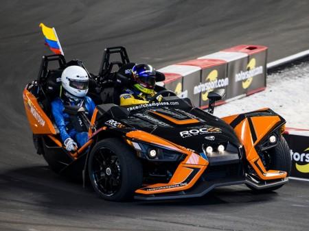 Juan Pablo Montoya gana la Race of Champions en Miami