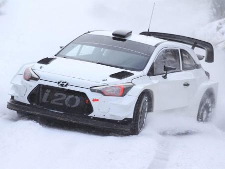 El Rally de Montecarlo mide el potencial del Hyundai i20 WRC