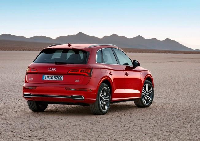 Audi Q5 2017 - posterior