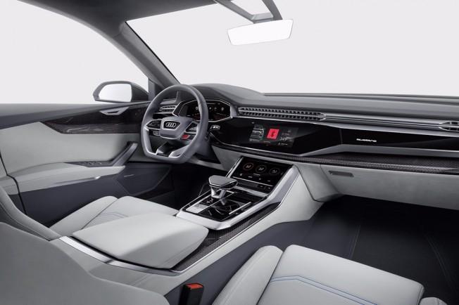 Audi Q8 Concept - interior