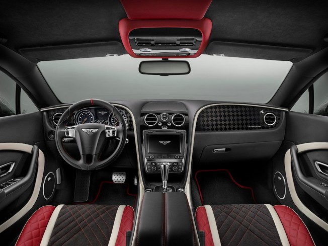 Bentley Continental Supersports - interior