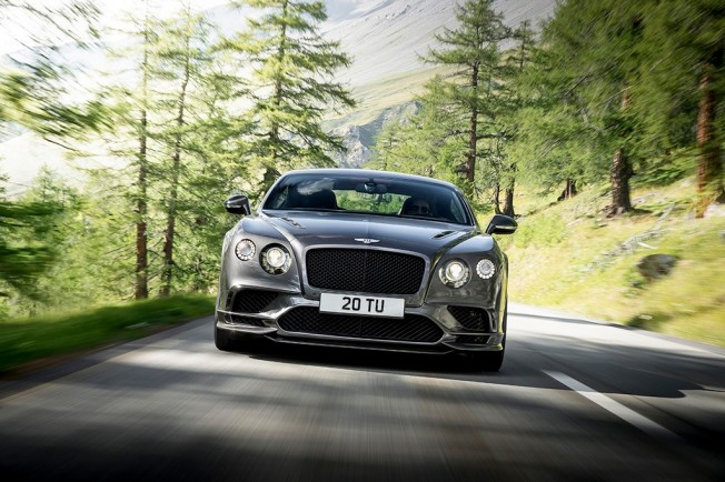 Bentley Continental Supersports - frontal