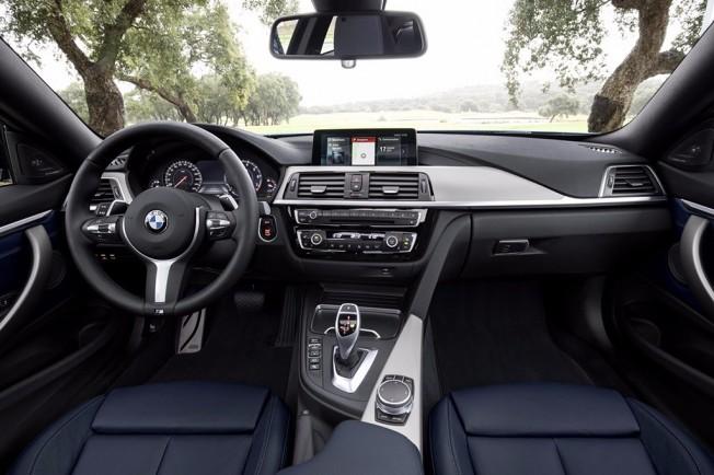 BMW Serie 4 2017 - interior