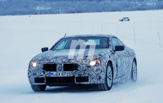 BMW Serie 6 2018 - foto espía