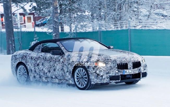 BMW Serie 6 Cabrio 2018 - foto espía