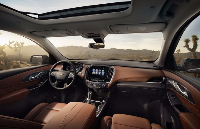 Chevrolet Traverse 2018 - interior