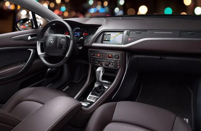 Citroën C5 2017 - interior