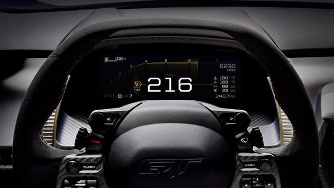Ford GT 2017 - interior
