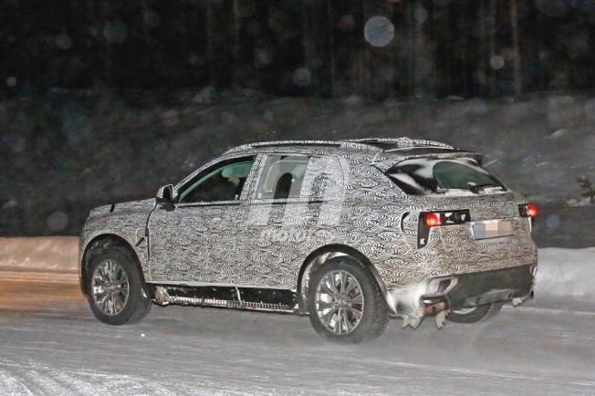 Foto espía del Lynk & Co SUV