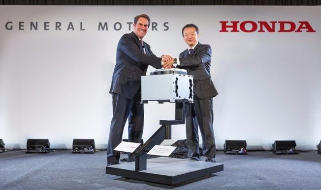 General Motors y Honda
