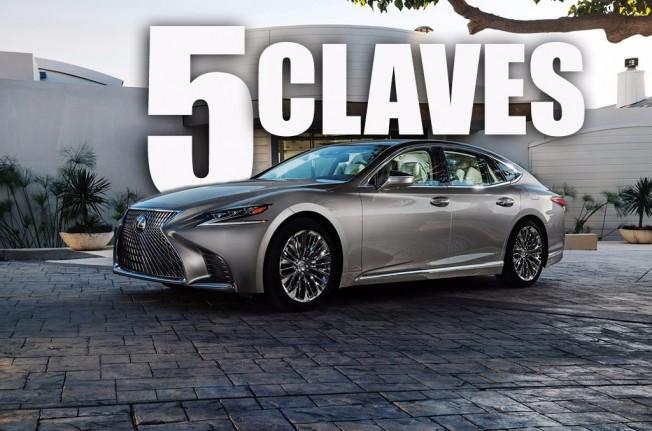 Lexus LS 2018 - 5 claves