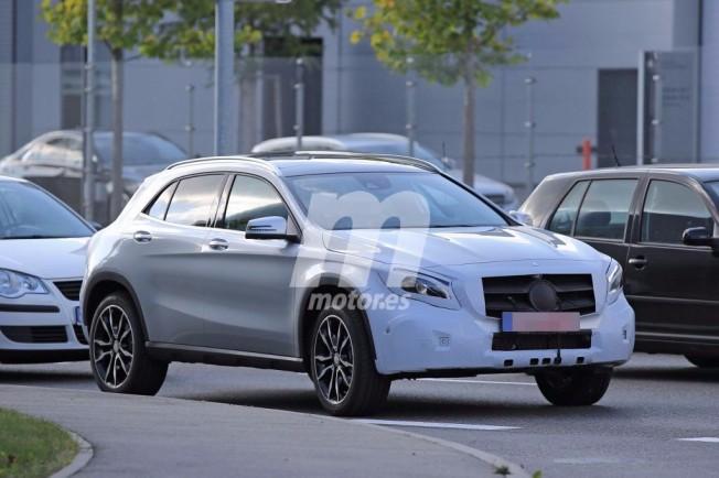Mercedes GLA 2018 - foto espía